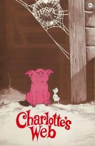Charlotte's Web poster art copy